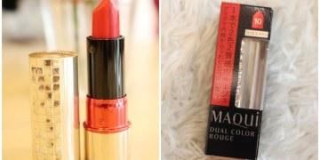 【日本藥妝戰利品】Shiseido資生堂-心機星魅雙色唇膏#10 水原希子代言之心機彩妝10周年紀念