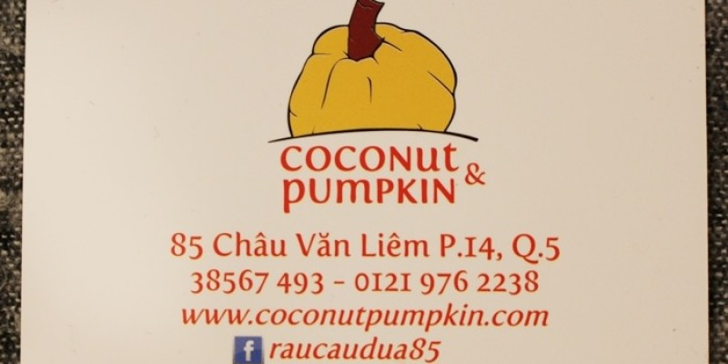 【Vietnam越南旅遊】當地美食小吃~Raucaudua85 椰子凍 coconut&pumpkin@胡志明市