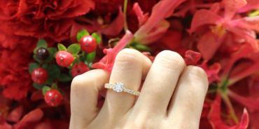 【Jewelry】HEARTS ON FIRE 婚戒鑽戒鑑賞