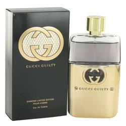 Gucci Guilty Diamond Cologne by Gucci, 3 oz Eau De Toilette Spray for Men