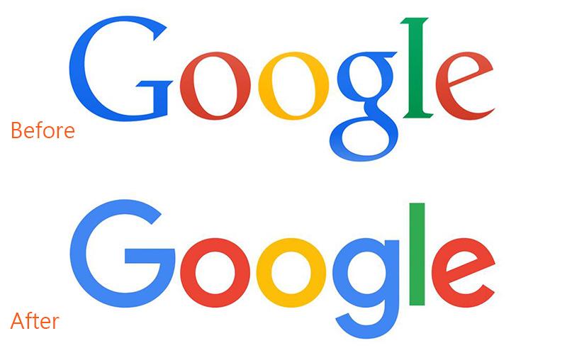 平面设计 视觉传达 [平面设计]google新字型logo演化史    ps.