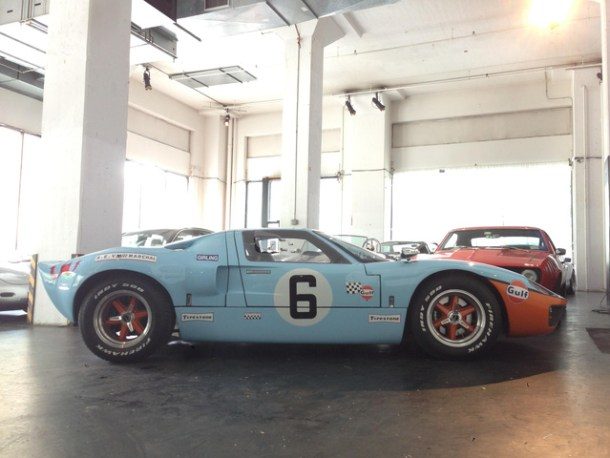CCC Welcomes CAV Ford GT40 in Gulf