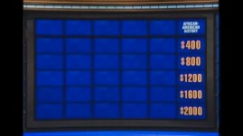 Last Night on Jeopardy No One Wanted to Answer Qs About Black History