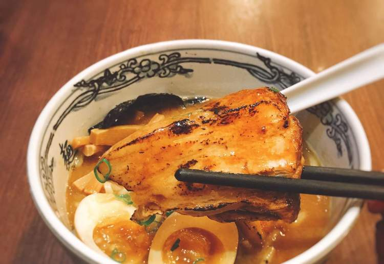 麵屋武藏》台北微風松高美食 | MENYA MUSASHI Ramen
