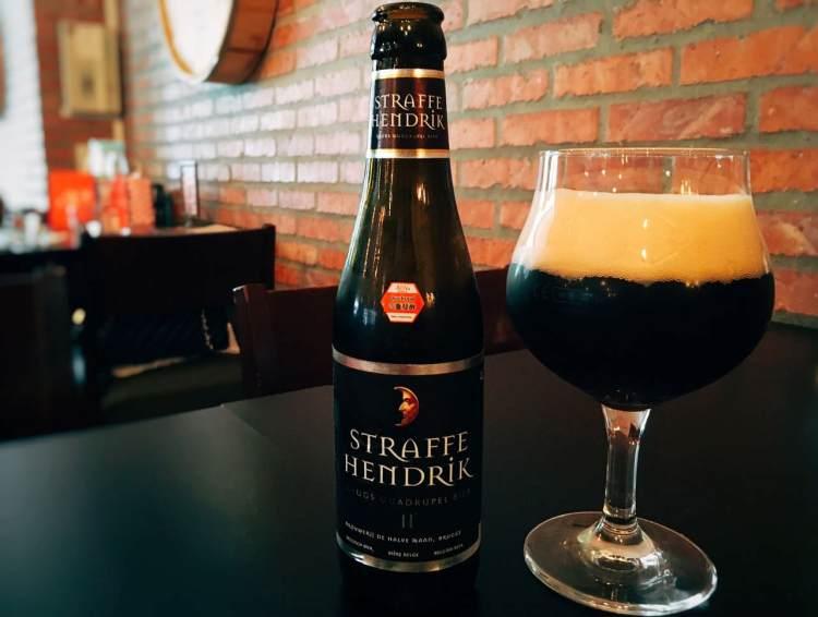 Straffe Hendrik Quadrupel 》比利時勇敢亨利四重發酵黑啤酒 | Belgium Beer
