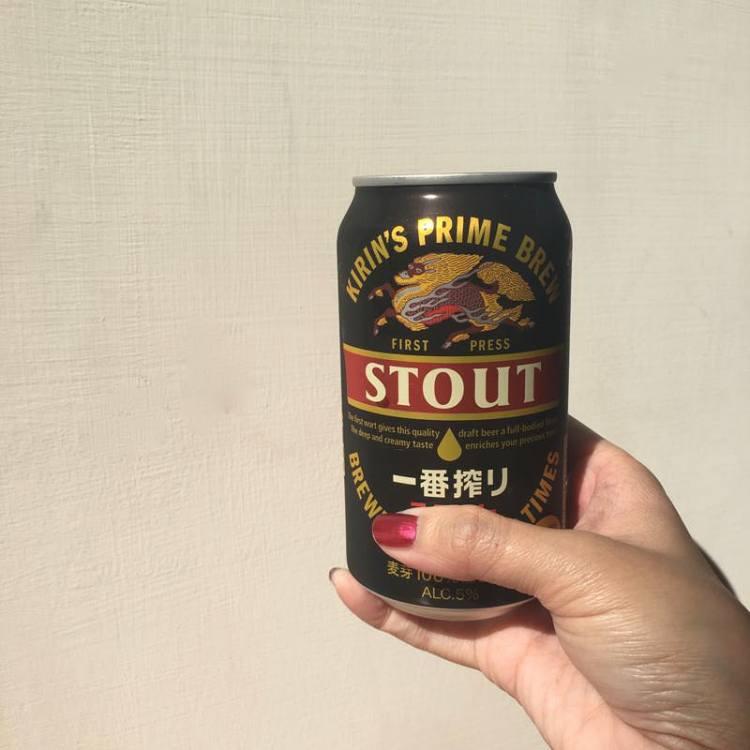 【 麒麟一番搾黑啤酒 】Kirin's Prime Brew Stout   Costco 好市多