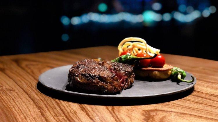 台北萬豪酒店餐廳推薦 》INGE'S Bar & Grill 景觀餐廳酒吧眺望台北