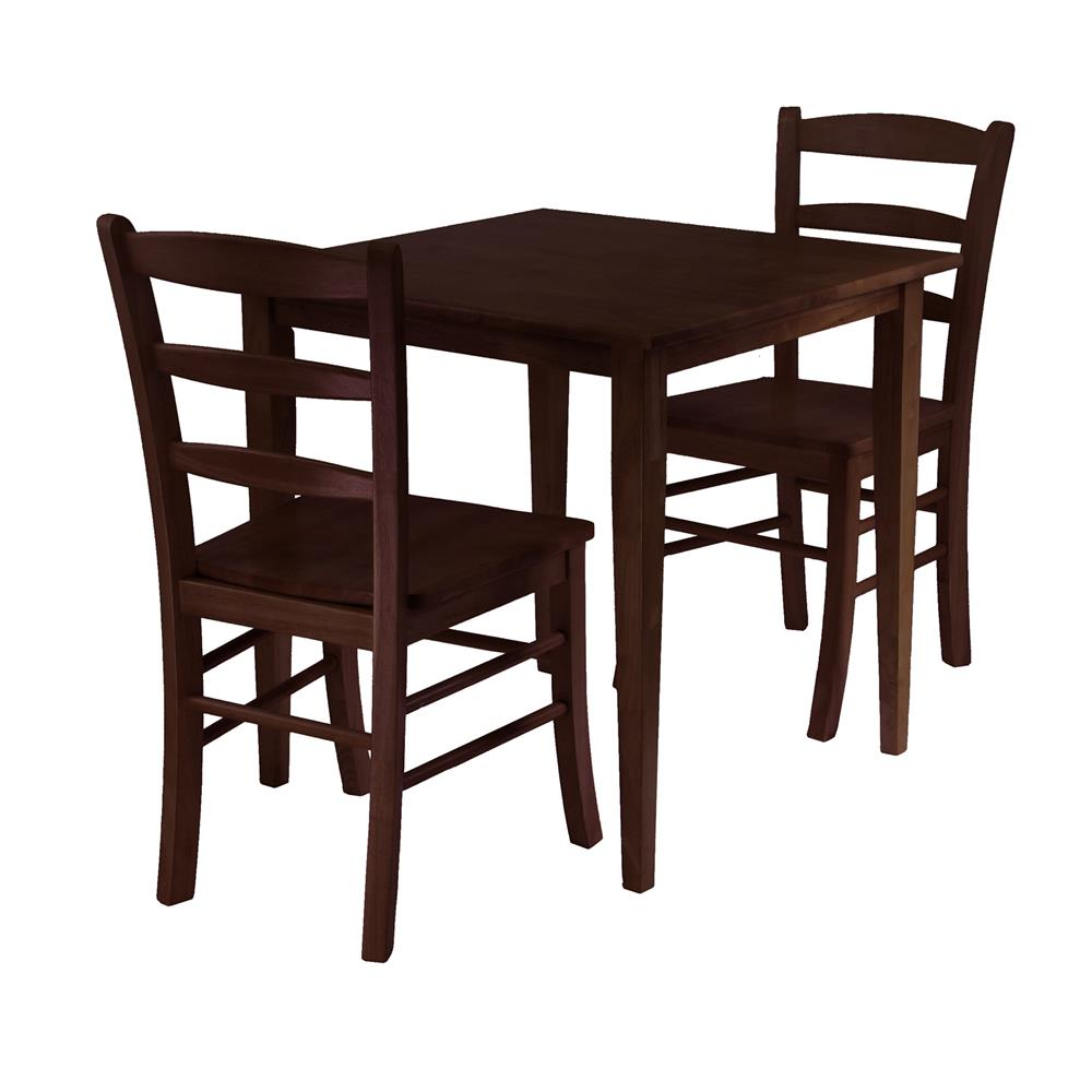 Winsome Groveland 5 pc Dining Table with 4 Chairs in LightOak small square kitchen table Winsome Groveland 5 pc Dining Table with 4 Chairs in LightOak