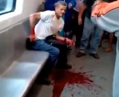 【グロ動画:病気】もしも隣のひとが大量に血を吐いたら・・・