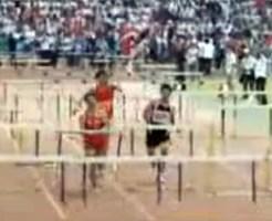 【衝撃映像:スポーツ】ハードル?そんなもの無視して突っ走るのが男の中の男!!