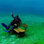 【衝撃映像:景色】グリーンレイクでダイビング映像が綺麗すぎるw水の中とは思えないw