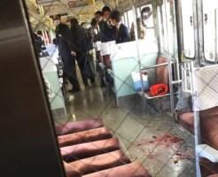 【閲覧注意】JR山陽本線とトラックの衝突事故で車内がヤバい事になってる画像が某ちゃんねるに投稿される