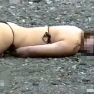 【グロ:死体】溺死?ビキニ姿の美女の死体・・・