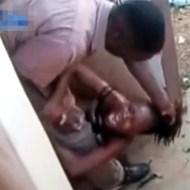 【衝撃映像】飲酒を止める嫁をフルボッコにするDVクソ野郎
