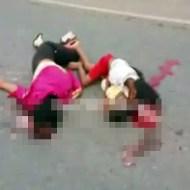 【超閲覧注意】赤ちゃんを抱いた娘が事故で肉塊に・・・