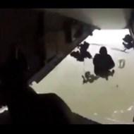 【衝撃映像】パラシュート部隊が降下失敗したらこんなことになる・・・