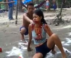 【閲覧注意】現存してる悪魔祓いの映像が公開される・・・取り憑かれた女性が血を吐きながら苦しむ