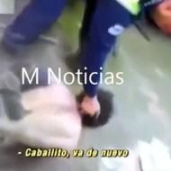 【流出動画】警察による犯人への過剰な虐待・・・何度も顔面を叩きつける・・・