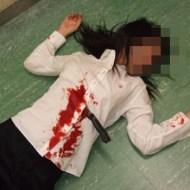 【閲覧注意】人が刺され殺されるのが鮮明に見れる映像・・・
