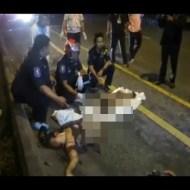 【グロ注意】交通事故で女性が真っ二つに・・・ ※閲覧注意