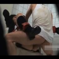【拘束レイプ動画】朗報!公衆トイレに自由にレイプできる野生のJKがいるらしいww