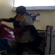 家に監視カメラ仕掛けたら84歳のおばあちゃんが介護士にサンドバッグみたいにされてた
