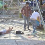【閲覧注意】遊園地でジェットコースターがレールから外れ重傷者複数