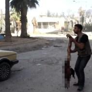 【テロ戦争】空爆で荒廃するシリア首都・・・今日も幼い少女が犠牲になる