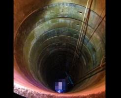 【グロ注意】行方不明の幼児の捜索・・・井戸のなかをみてみると・・・