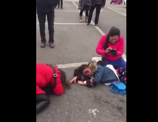 【胸糞】子供が目の前で死んだ母親の泣き声聞きたい奴いる? ※事故動画