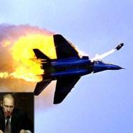 【プーチン激オコ】ミグ21戦闘機がISISに撃墜される瞬間 対空砲強すぎw ※撃墜動画