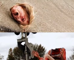 【閲覧注意】美女の首を切断した美味しく頂く映像怖すぎる・・・