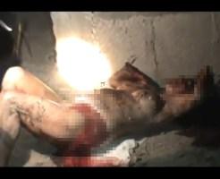 【グロレイプ】中出しされ鉈で切り刻まれた娘が発見されたときの反応・・・