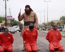 【イスラム国】激オコISIS処刑人 本日の斬首キルカウント3人・・・ ※閲覧注意
