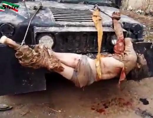 【グ●動画】人間の死体で車のデコレーションするセンスってぶっ飛んでである意味すごい・・・ ※閲覧注意