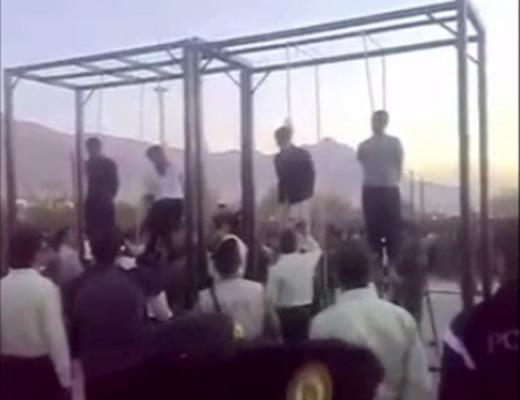 【公開処刑】日本で囚人の公開処刑あったら見てみたい?イランの公開処刑は一般公開 首吊りのイス外してもおk