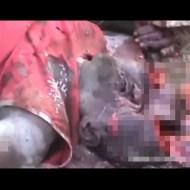 """【グロ動画】殺人事件の凶器が""""大きい石""""だった時の死体がやばい・・・"""