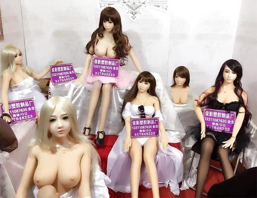 【エロ画像】中国のセ○クス人形・・・思ったよりも可愛くて草www