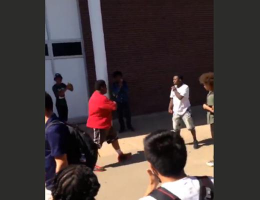 【衝撃映像】デブのいじめられっ子がキレたら強すぎた・・・
