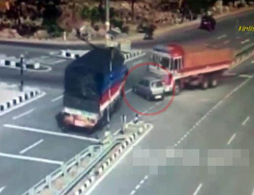 【衝撃映像】絶対に助からない車の事故NO1がこちら・・・ 動画有り