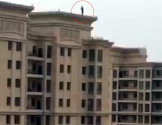 【自殺】人間が30階の高さから落ちた時の『音』をお聞きください。(※トラウマ注意※)