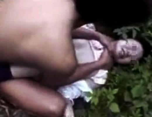 【本物レイプ】JKを山中に拉致って野外レイプしている映像が怖すぎる・・・