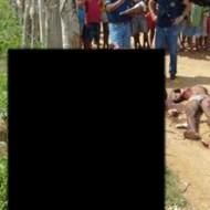 【グロ画像】レイプ犯を懲役にするか、アフリカみたいにこんな感じの刑するかどっちの方がいいと思う? ※閲覧注意