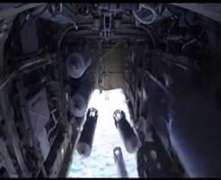 【空爆】激おこプーチンのISIS攻撃作戦でどんなことをしてるのかよく分かる映像を戦闘機の弾薬庫からお送りします