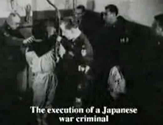 【閲覧注意】連合国軍に処刑された大日本帝国 戦争責任者の処刑映像・・・