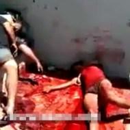 【グロ動画】襲撃された売春宿の現場検証行ってきたら血まみれの女だらけだった・・・ ※閲覧注意