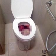 【閲覧注意】女性が入った後のトイレの便座の蓋開けたら・・・