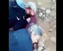 【グロ動画】男女平等の先進国メキシコw女の子だからって容赦なく・・・ヘッドショットで殺しました ※閲覧注意