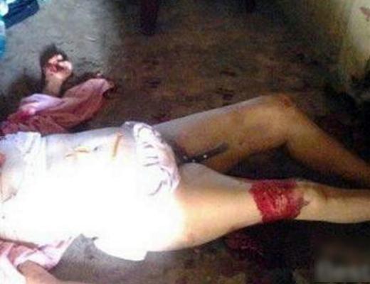 【閲覧注意】彼女の自宅に行ったらマ○コにナイフを刺された状態死んでた・・・
