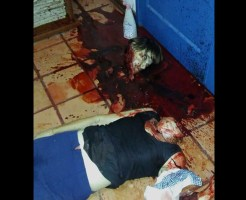 【グロ画像】カッとなって母親の首を切り落とした。今は後悔している ←薬物中毒息子のご尊顔と殺人現場の写真貼ってく